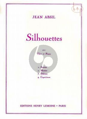 Silhouettes Op.97 (Flute-Piano)