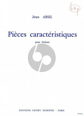 Pieces Caracteristiques pour Guitare