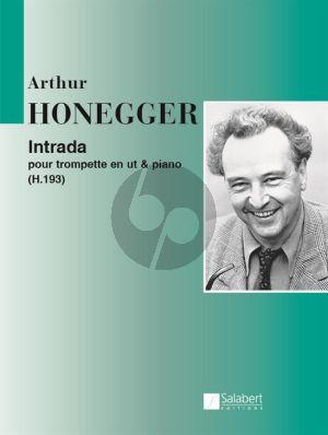 Honegger Intrada H.193 Trumpet in C and Piano