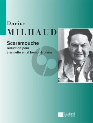 Milhaud Scaramouche Clarinette in Bb and Piano