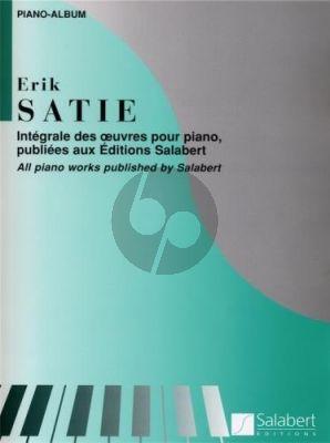 Satie Intégrale des Oeuvres pour Piano