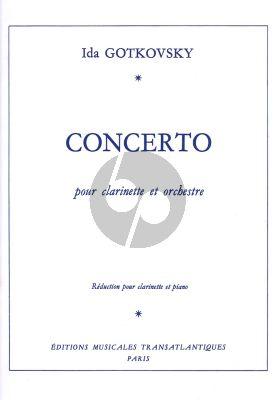 Gotkovsky Concerto Clarinet - Piano