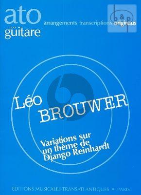Variations sur Django Reinhardt Guitare