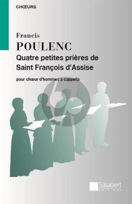 Poulenc 4 Petites Prieres de Saint Francois d'Assise TBB