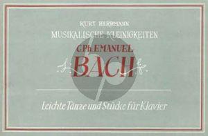 Bach Leichte Tanze und Stucke Klavier (Kurt Herrmann)