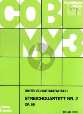 Streichquartett No.2 Op.68 A-dur Stimmen