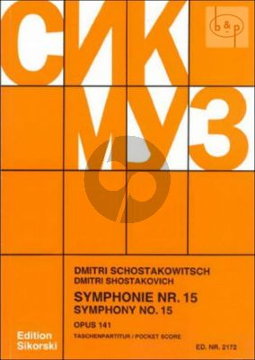 Symphony No.15 Op.141