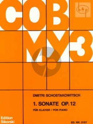 Sonate No.1 Op.12