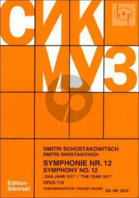 Symphony No.12 Op.112