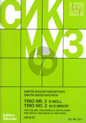 Klaviertrio No.2 Op.67 Vi.-Vc.-Klavier