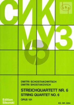 Streichquartett No.6 Op.101 G-dur Stimmen
