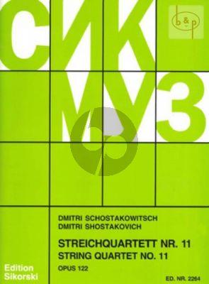 Streichquartett No.11 Op.122 f-moll Stimmen