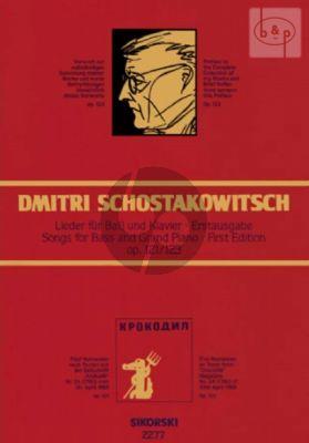 """Lieder nach Texten aus der Zitschift """"Krokodil"""""""" Op.121 & Op.123"""