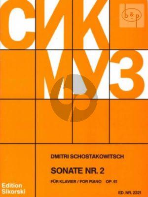 Sonate No.2 Op.61 Klavier