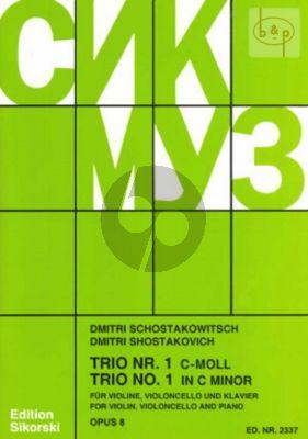 Klaviertrio No.1 Op.8 Vi.-Vc.-Klavier