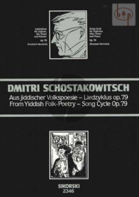 Aus jiddischer Volkspoesie - Liedzyklus Op.79a