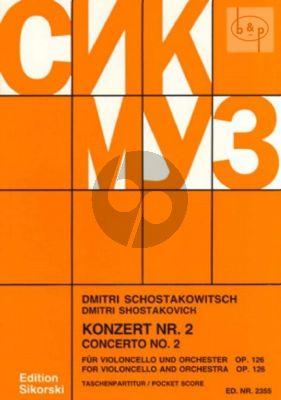 Concerto No.2 Op.126 g-minor Violoncello-Orch.