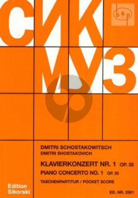 Concerto No.1 Op.35 c-minor (Piano-Trump.- Str.Orch.)