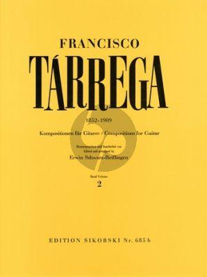 Tarrega Kompositionen Vol.2 Gitarre