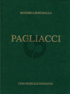 Leoncavallo Pagliacci Vocal Score