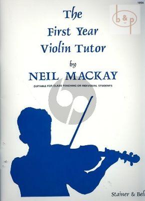 First Year Violin Tutor