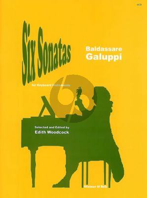 Galuppi 6 Sonatas for Harpsichord (Edith Woodcock)