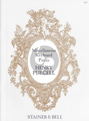 Purcell Complete Harpsichord Works Vol.2 Miscellaneous Pieces (edited by Howard Ferguson)