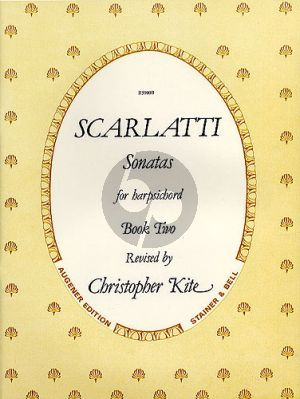 Scarlatti Sonatas Vol.2 Harpsichord (edited by Christopher Kite)
