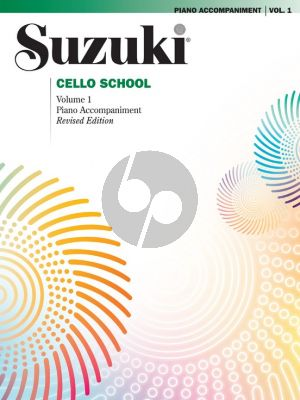 Suzuki Cello School Vol.1 Piano Accompaniments