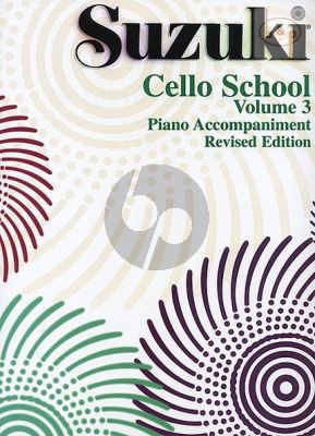Cello School Vol.3 Piano Accompaniments