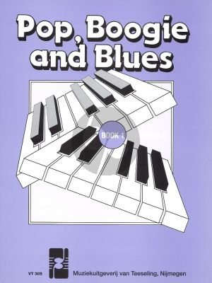Pop, Boogie and Blues Vol.1 Piano