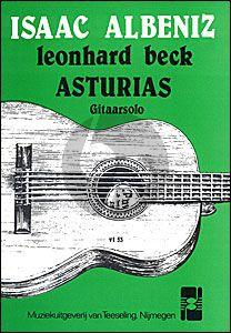 Albeniz Asturias (Leyenda) Gitaar solo (ed. Leonard Beck)