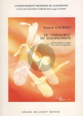 Cournet Le Thesaurus du Saxophoniste Vol.1
