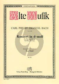 Konzert d-moll Wq 22 Flöte-Streicher-Bc