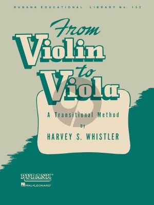 Whistler From Violin to Viola (A Transitional Method)
