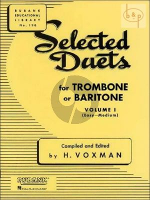Selected Duets for Trombone Vol.1
