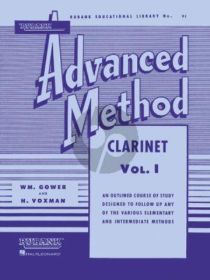 Voxman-Gower Advanced Method Vol.1 Clarinet