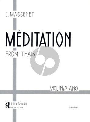Meditation from Thais Violin-Piano
