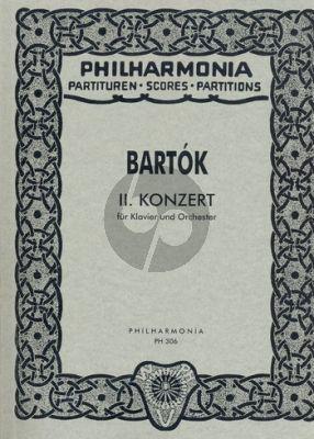 Concerto No.2 piano-orch. study score