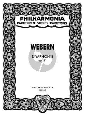 Symphonie Op. 21 Orchester Studienpartitur
