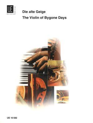Album Die alte Geige fur Violine und Klavier (20 leichte Originalkompositionen)