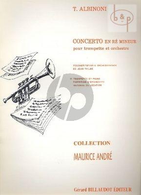 Concerto d-minor Trumpet and Piano