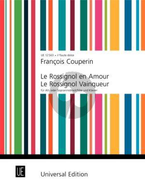 Couperin Le Rossignol en Amour/Le Rossignol Vainqueur Treble Rec.-Bc