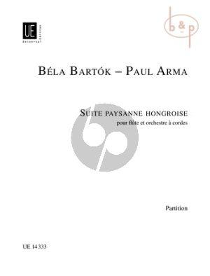 Suite Paysanne Hongroise (Flute-String Orch.)