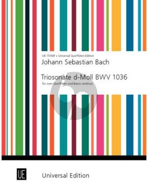 Bach Triosonate d-moll BWV 1036 2 Flöten und Bc (Gerhard Braun)