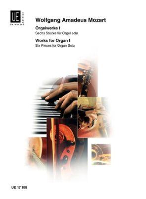 Mozart Orgelwerke Vol.1 (6 Stucke aus KV 339, 401, 443, 153, 154 und 574)