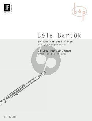 18 Duos 2 Flutes
