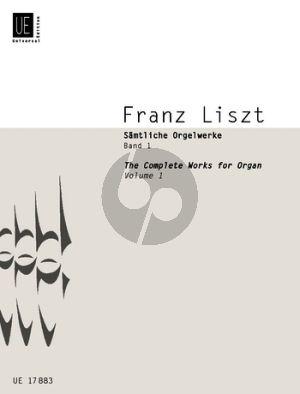 Liszt Samtliche Orgelwerke Vol.1 (Martin Haselböck)