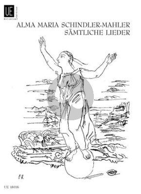 A. Schindler-Mahler Sämtliche Lieder