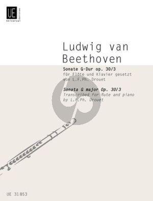 Beethoven Sonate Op.30 Nr.3 G-dur Flöte-Klavier (Louis Drouet)